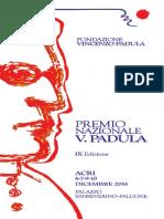 Programma Premio Padula - XI Edizione