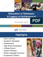 Delaware Department of Education Budget Request presentation -FY18 Public Hearing