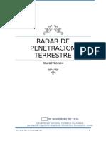 Avance Radar de Penetracion Terrestre