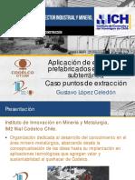 Aplicación de Elementos Prefabricados en Minería Subterránea