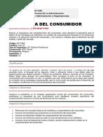 801105M - PSICOLOGÍA DEL CONSUMIDOR.