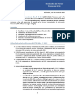 Genomma Lab Internacional 3Q 2016 ESP