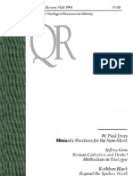 Fall 1994 Quarterly Review - Theological Resources for Ministry