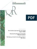 Fall 1996 Quarterly Review - Theological Resources for Ministry