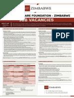Vacancies With AIDS HealthCare Foundation - Mpilo and Parirenyatwa