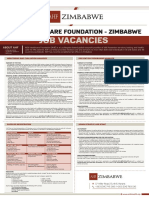 Vacancies With AIDS HealthCare Foundation - Mpilo and Parirenyatwa