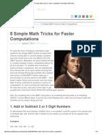 5 Simple Math Tricks for Faster Computations _ Manhattan GMAT Blog
