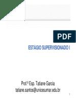Slide Aula Ao Vivo 26-10-15 - Estagio Supervisionado I Modo de Compatibilidade