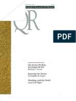 Fall 1999 Quarterly Review - Theological Resources for Ministry