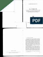 Alejandro Diez Macho, El Targum. Introducción a Las Traducciones Aramaicas de La Biblia