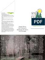 indesign brochure biodiversity