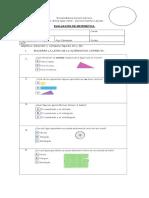 Evaluacion de Figuras 2d y 3d