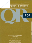 Winter 1982-1983 Quarterly Review - Theological Resources for Ministry