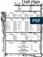 DarkAges Ghoul V20 1-Page Interactive