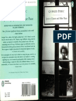 Perec Georges Species of Spaces and Other Pieces
