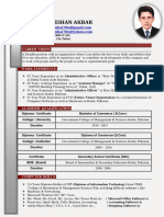 CV for Admin Jobs