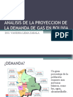 Analisis de La Proyeccion de La Demanda de Gas1