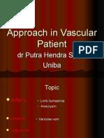 Vascular Disease Approach 11-7-13