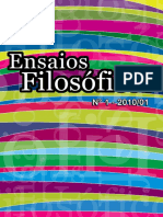 Ensaios Filosoficos Volume I