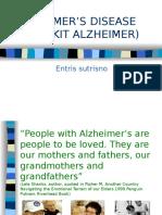 Presentasi Alzheimer Ok