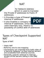 NAT & Application Control