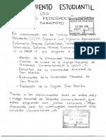 PRONUNCIAMIENTO ESTUDIANTIL 28.11.16