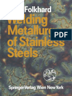 Welding Metallurgy of Stainless Steels