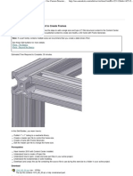 Autodesk Inventor - Use Custom Structural Content to Create Frames
