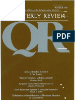Winter 1991-1992 Quarterly Review - Theological Resources for Ministry