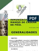 Cadena de Frio e Inmunizacion