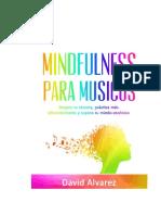 Alvarez David - Mindfulness Para Musicos