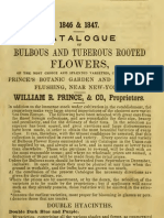 (1846) Catalogue of Bulbous and Tuberous Rooted Flowers