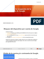 Desbloqueo Cuenta Google Huawei