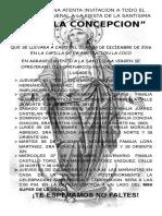 Novenario Virgen de La Concepcion