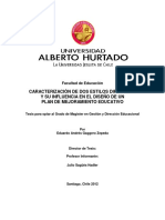 Caracterización de Dos Estilos Directivos