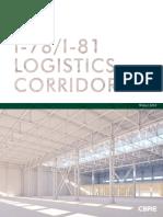 The PA I-78I-81 Logistics Corridor