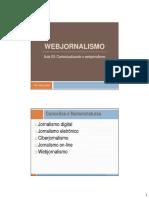 Webjornalismo Aula 03