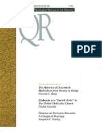 Winter 1999-2000 Quarterly Review - Theological Resources for Ministry