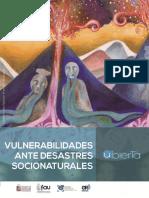 vulnerabilidades ante desastres socionaturales