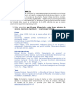 Guía Del Reporte de Estadía TSU Junio 2013 Fuentes de Consulta y Anexos