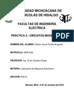 Practica 2.- Maquinas Electricas