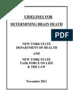 Brain Death Guidelines