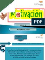 Motivación en psicología