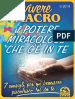Vivere_macro_5-2014- Il Potere Miracoloso Che c'è in Te
