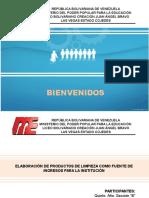 Presentación Elaboración Productos de Limpieza (Creación Juan a. Bravo)