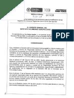 Resolución 5639 2013 Cambios Registros Venta Plaguicidas