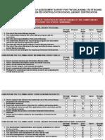 slc initial self assessment survey 2013new