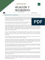 Guía de Estudio 1ª Parte Inflación y Crecimiento Grado 2015-2016