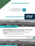 Eximus Presentacion Corporativa 2016 III