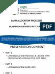 TC Land Allocation Process